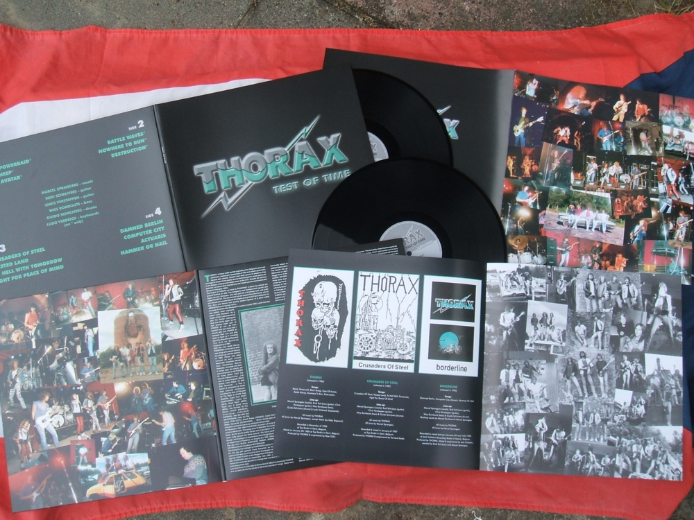 THORAX - Test of time, Double LP